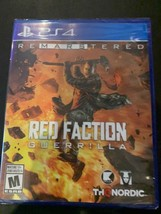 BRAND NEW Red Faction Guerilla Re-Mars-Tered REMASTERED - PlayStation 4 PS4 - $24.88