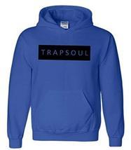 CC Bryson Tiller Trapsoul Hoodie Royal Blue (Black Print) - $29.99