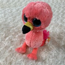 New Ty Beanie Boos Pink Flamingo Gilda  Plush Stuffed Animal Toy - $4.22