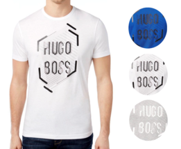 Hugo Boss Men's Premium Designer Graphic Cotton Shirt T-Shirt 50312850 - $37.95