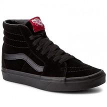 Original Vans SK-8 Black VN000D5IBKA Suede Leather Casual MEN - $79.43 CAD