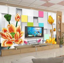 3D Raum, Blumen 77 Fototapeten Wandbild Fototapete BildTapete Familie - $52.21+