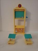 Vintage Mattel Barbie 1995 School Class Desk Kelly Desks Chalkboard Lot TALKING - $19.95