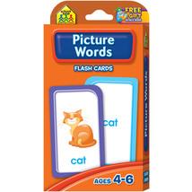 Flash Cards Picture Words 53/Pkg - $7.99