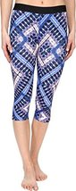 Hurley Women's Dri-Fit Crop Leggings Hyper Cobalt Pants MD (US 6-8) X 18.5
