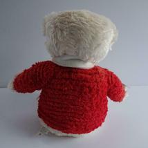 "Hallmark Jingle Bear Soft Plush Bear Plays Jingle Bells 13"" High image 5"