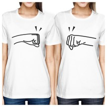 Fists Pound BFF Matching White Shirts - $30.99+