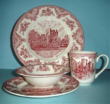 Johnson Brothers Old Britain Castles 4-Piece Place Setting New - $43.90