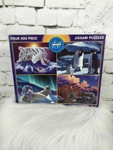 Ceaco Four 500 Piece Jigsaw Puzzles By Schinmel New Sealed - $19.79