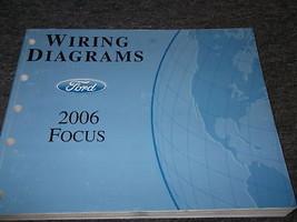 2006 Ford Focus Electrical Wiring Diagrams Service Shop Manual EWD OEM 2... - $59.35