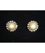 Vintage Button Earrings - $5.00