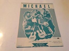 Michael Sheet Music [Sheet music] by DAVE FISHER - $24.54