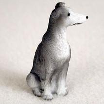 GREYHOUND BLUE TINY ONES DOG Figurine Statue Pet Gift Resin - $8.99