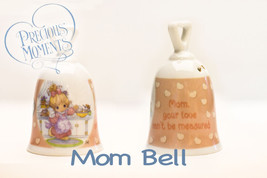 PRECIOUS MOMENTS Porcelain Mom Official Collectible Bell 2004 - Lot of 2... - $12.16