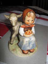 Goebel #182 Girl Sitting with Deer Good Friends TMK 3 - $160.00