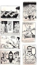 DAMN SADDAM! The Wacky Iraqi (1991) Potshot Prod. Trading Card set (36 c... - $9.89