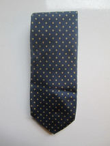 Vintage Brooks Brothers Makers Blue Neck Tie All Silk Printed In England - $22.27