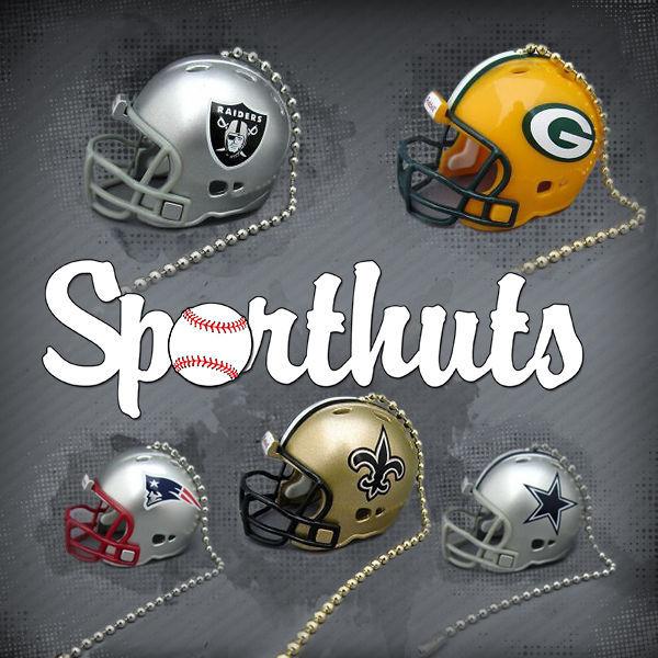 NFL FOOTBALL HELMET CEILING LIGHT FAN PULL & CHAIN MADE by RIDDELL & SPORTHUTS