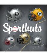 NFL FOOTBALL HELMET CEILING LIGHT FAN PULL & CHAIN MADE by RIDDELL & SPO... - $6.71
