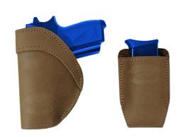 New Barsony Olive Drab IWB Holster + Mag Pouch Astra, CZ Mini/Pocket 22 25 380 - $46.99