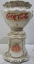 Coca-Cola Ceramic Syrup Urn Pencil Holder circa 1970's Limited Edition - $295.00