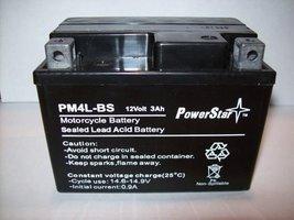 PowerStar Parts Unlimited AGM Maintenance-Free Battery - YTX4L-BS LEMM62X4B - $25.37