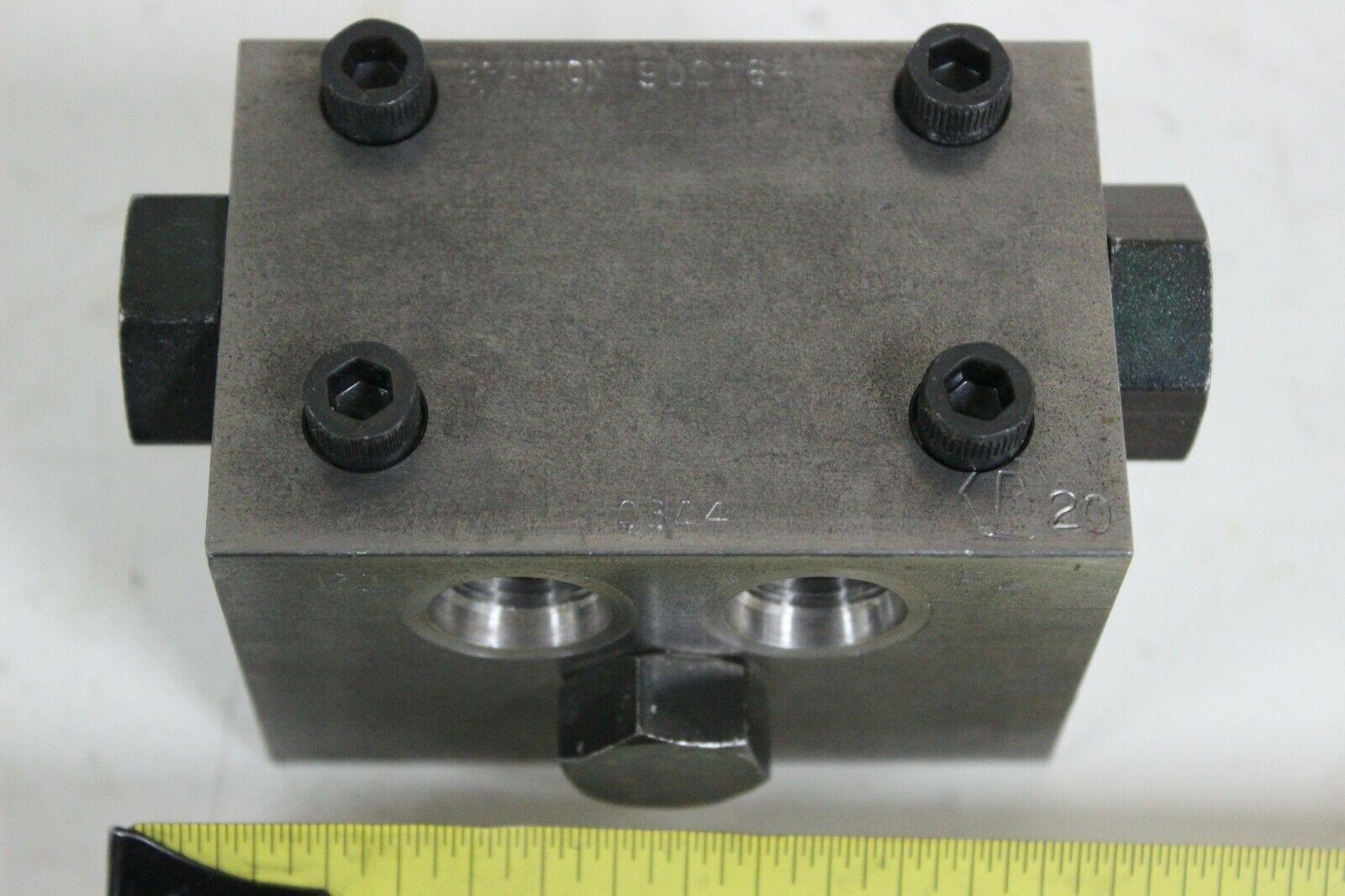 Brannon 900164 50/50 spliter Spool Valve New
