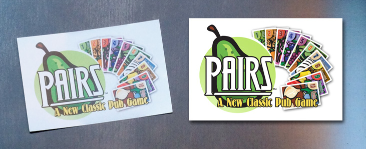 "Cheapass Games ""Pairs"" Classic Design Sticker - Freebie!"
