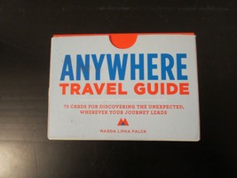 Anywhere Travel Guide - Falck, Magda Lipka 75 Cards - $9.49