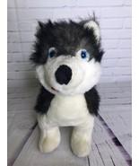 BJ Toy Co Siberian Husky White Gray Black Dog Large Plush Stuffed Animal... - $23.75