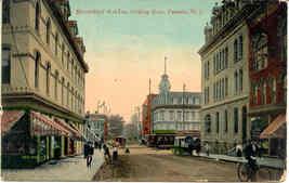 Bloomfield Avenue Passaic New Jersey 1911 vintage Post Card - $6.00