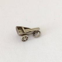 Vintage Sterling Silver Boat Roller Charm Pendant - $12.99