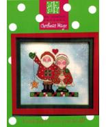 Christmas Magic cross stitch chart Amy Bruecken Designs - $7.20