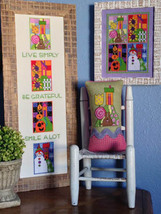 Seasons cross stitch chart Amy Bruecken Designs - $14.40