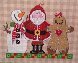 Three Wise Men cross stitch chart Amy Bruecken Designs