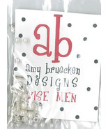 EMBELLISHMENT PACK beads Three Wise Men Amy Bruecken Designs - $6.00