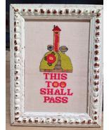 This Too Shall Pass cross stitch chart Amy Bruecken Designs - $7.20