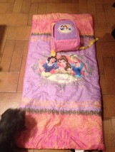 Disney Princess Sleeping Bag Blanket & Matching Backpack set, Pink Yello... - $9.00