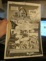 ORIGINAL COMIC ART Anima #7 Sept. 1994 Brent Anderson pencils; Blyberg i... - $294.00