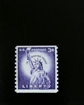 1958 3c Statue of Liberty, Coil Scott 1057 Mint F/VF NH - $1.09