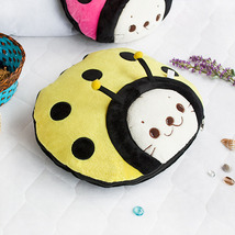 [Sirotan - Ladybug Yellow] Blanket Travel Pillow Blanket  - $27.99