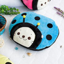 [Sirotan - Ladybug Blue] Blanket Travel Pillow Blanket  - $27.99
