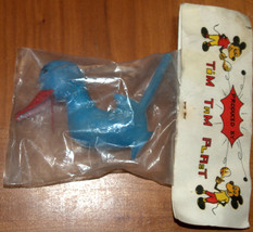 Vintage Plastic Whistle Duck 1960's Children Party Toy Israel Tim Tam Plast NOS image 7