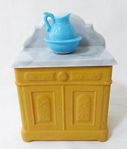 avon victorian washstand foaming bath oil vintage 1970's - $9.89