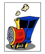 Train011-Download-ClipArt-ArtClip-Digital Tags - $4.00