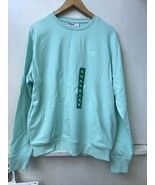 FILA Pullover Sweatshirt Mint Green XL X-Large French Terry NWT Womens - $22.95