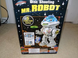 Disc Shooting Mr. Robot Electronic Toy (Missing Remote) - $19.79