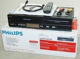 Philips DVP3345VB Combo VHS/DVD/CD Video Player Movie MP3 WMA VCR No Tun... - $163.35
