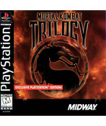 Mortal Kombat Trilogy PS1 Great Condition Fast Shipping - $19.93