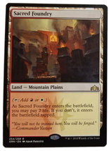 "Magic the Gathering MTG ""Sacred Foundry"" Rare Guilds of Ravnica Card x1 ... - $4.88"